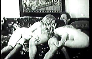 SBr Vintage Hairy Teens Threesome ¡Sin hermanos follan por accidente papá!